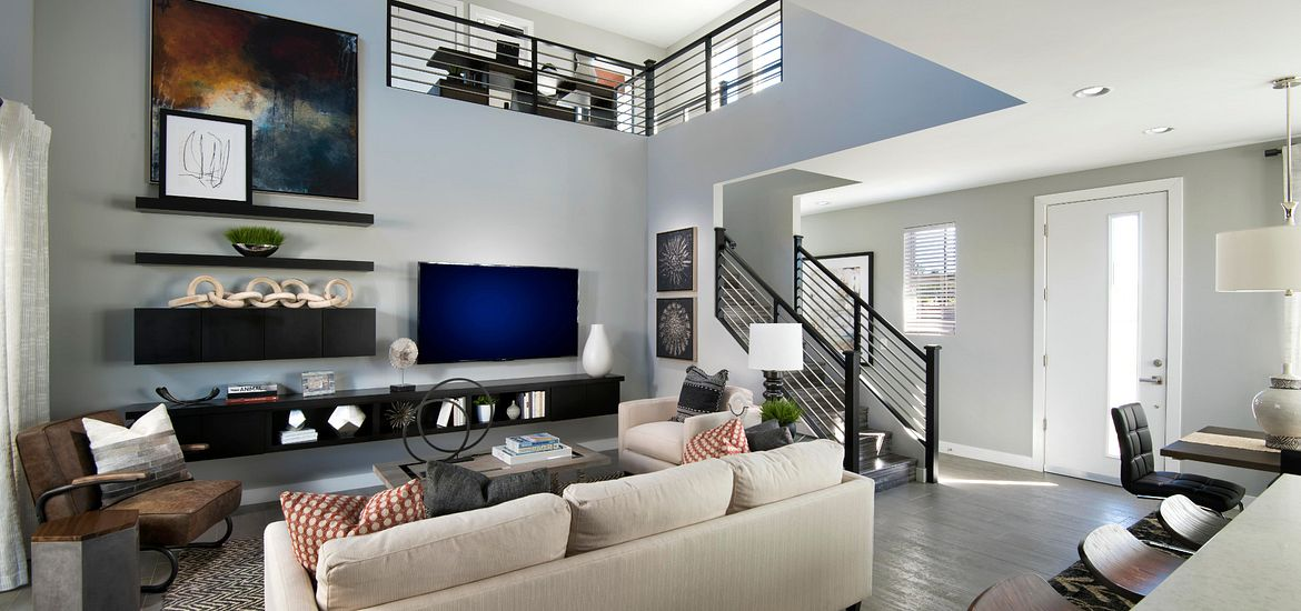 Compass at Recker Pointe Plan 1011 Altair Living Room