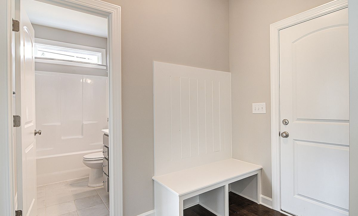 Verona plan Mud Room