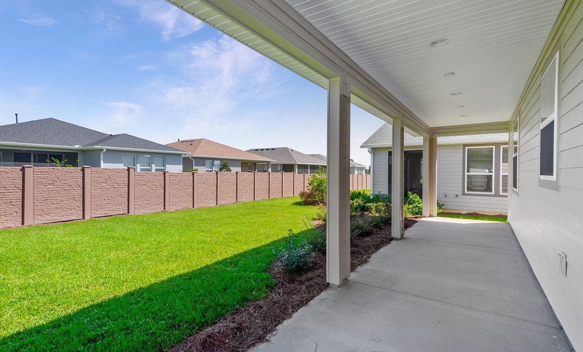 Trilogy at Ocala Preserve Quick Move In Home Naples Covered Lanai