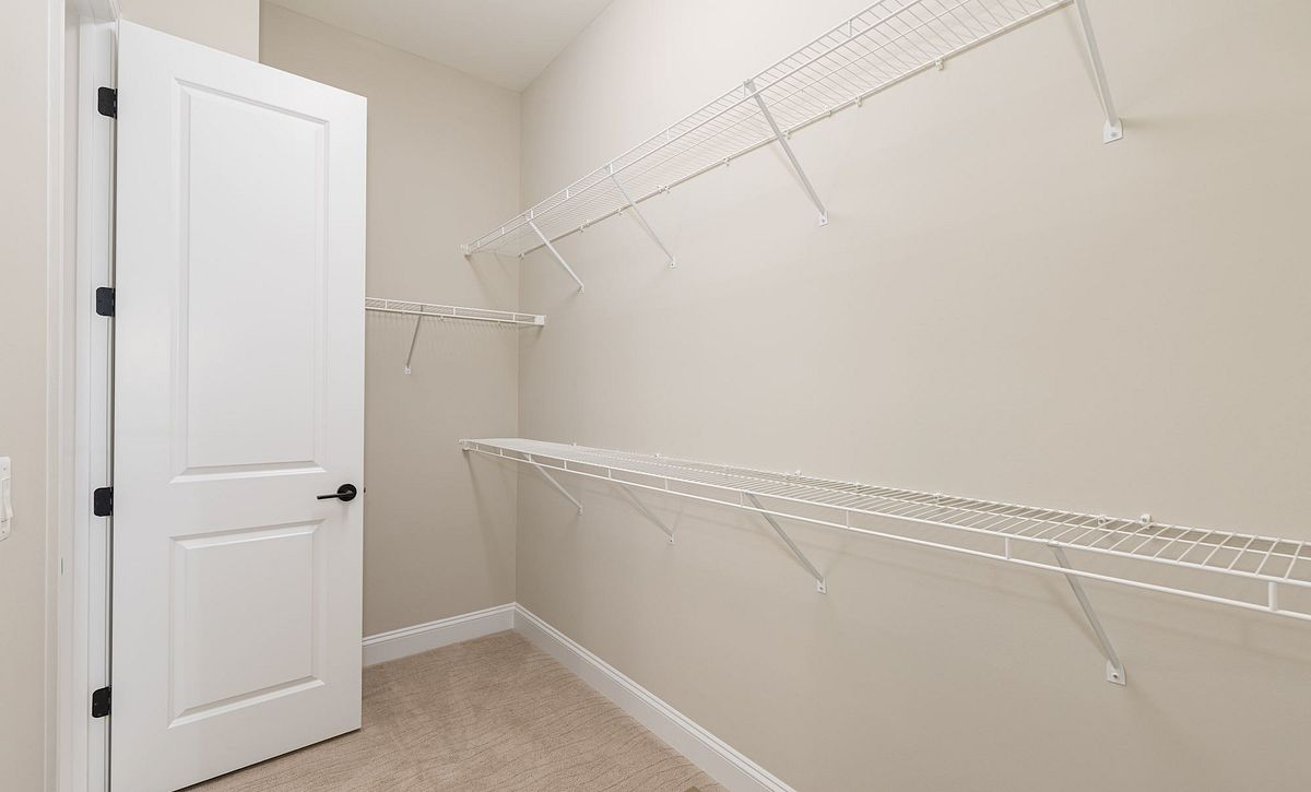 Trilogy at Lake Frederick Quick Move In Home Evoke Plan Walk in Closet