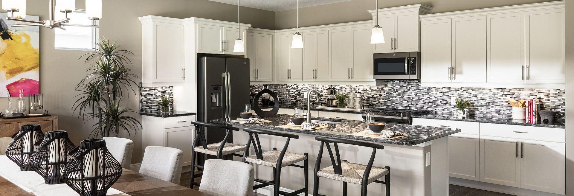 Trilogy at Ocala Preserve Liberty Model Home Kitchen