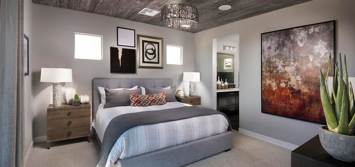 Compass at Recker Pointe Plan 1011 Altair Master Bedroom