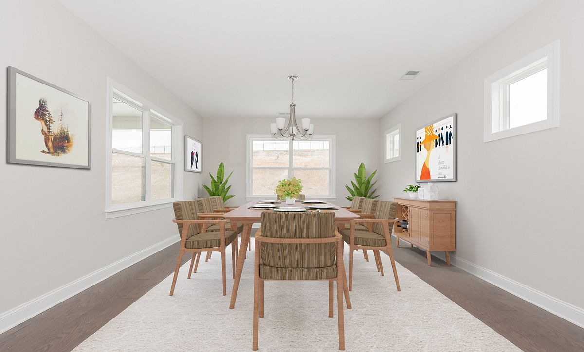 Trilogy Lake Norman Quick Move In Home Virtually Staged