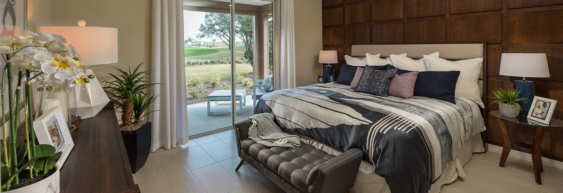 Rome Plan Master Bedroom