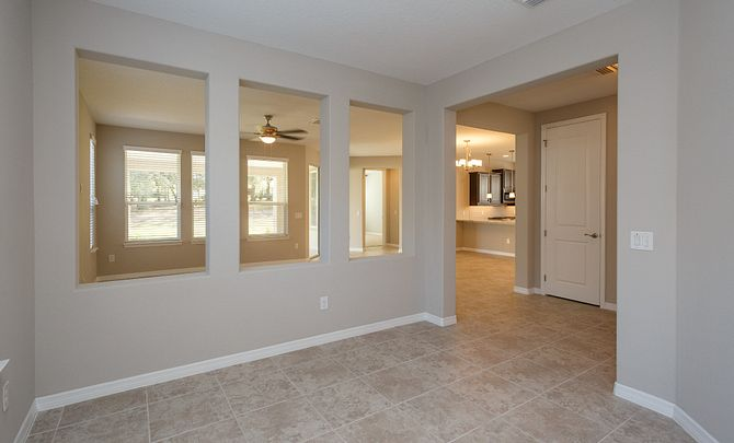 Trilogy at Ocala Preserve Cannes Plan Quick Move In Den