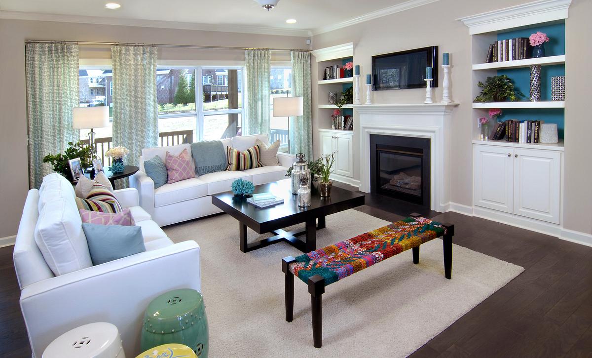 Silverado plan Family Room