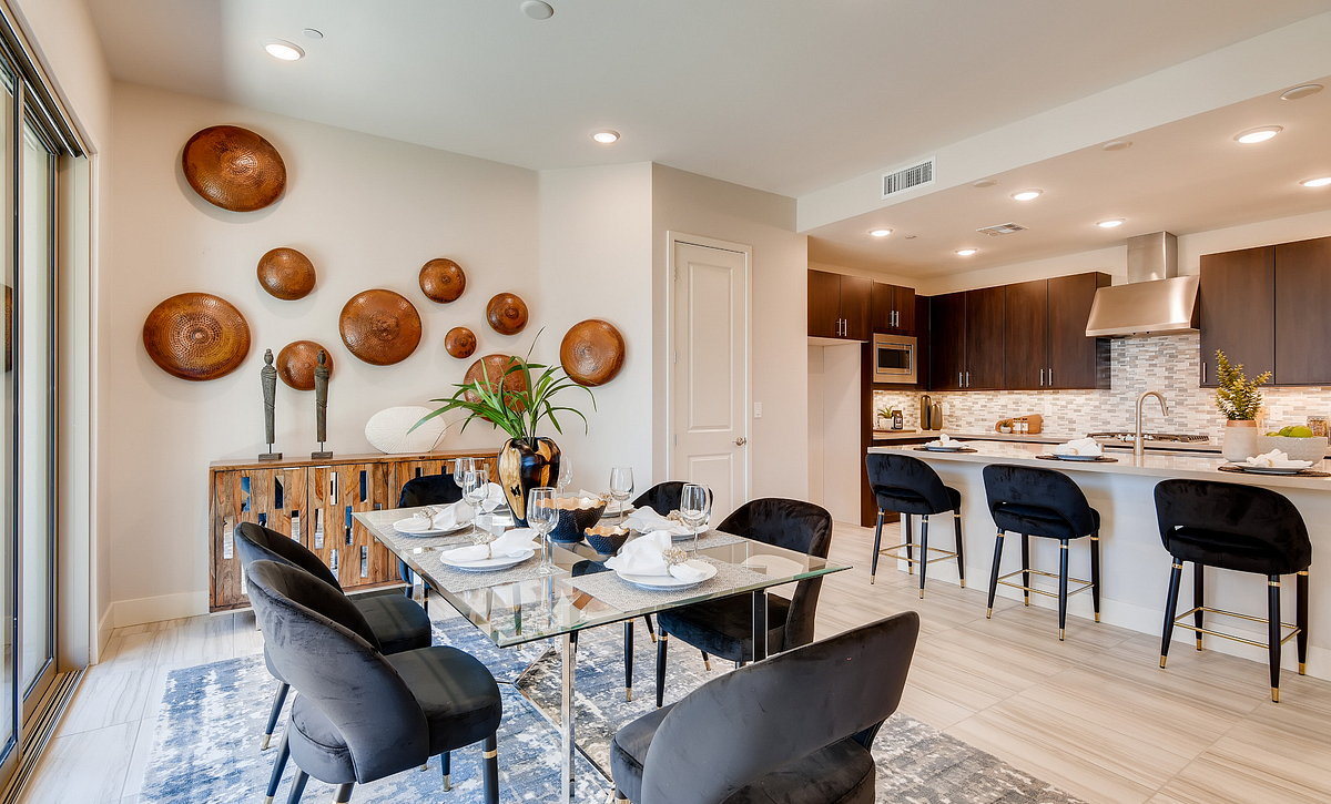 Trilogy Summerlin Inspire Dining Room