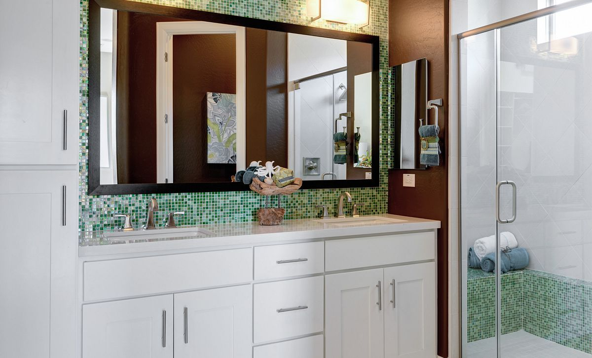 Create Model Master Bathroom