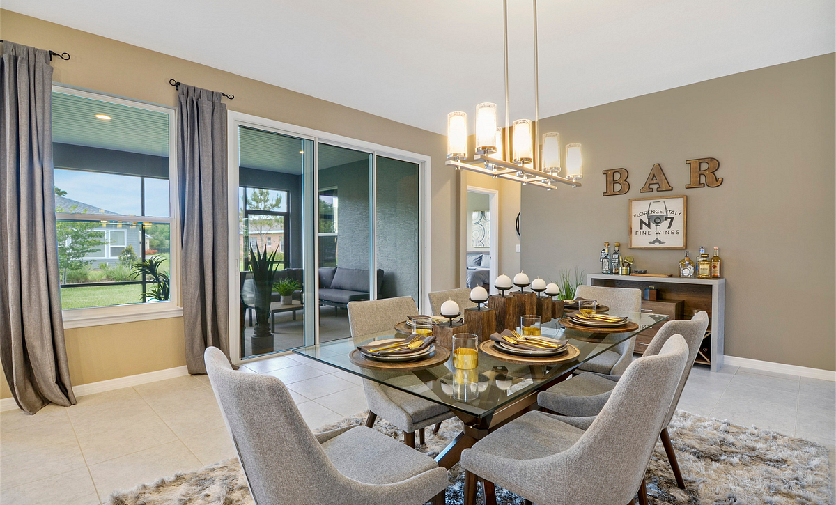 Trilogy at Ocala Preserve Excite Model Home Dining