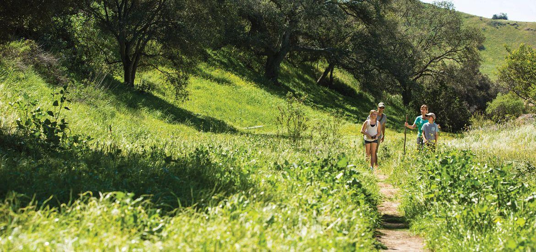Trails around Rancho Mission Viejo