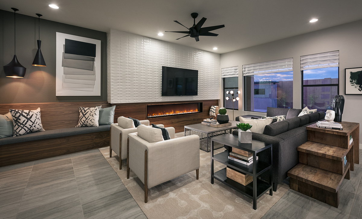 Evolve at Cantilena Renew Plan 5582 Living Room