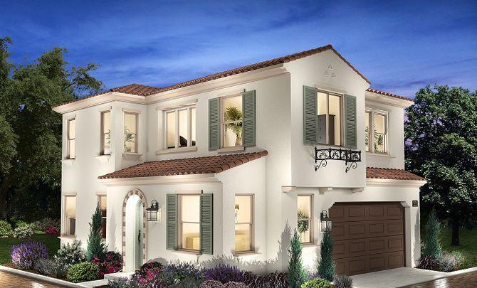 Bristol Plan 2 Exterior A: Santa Barbara