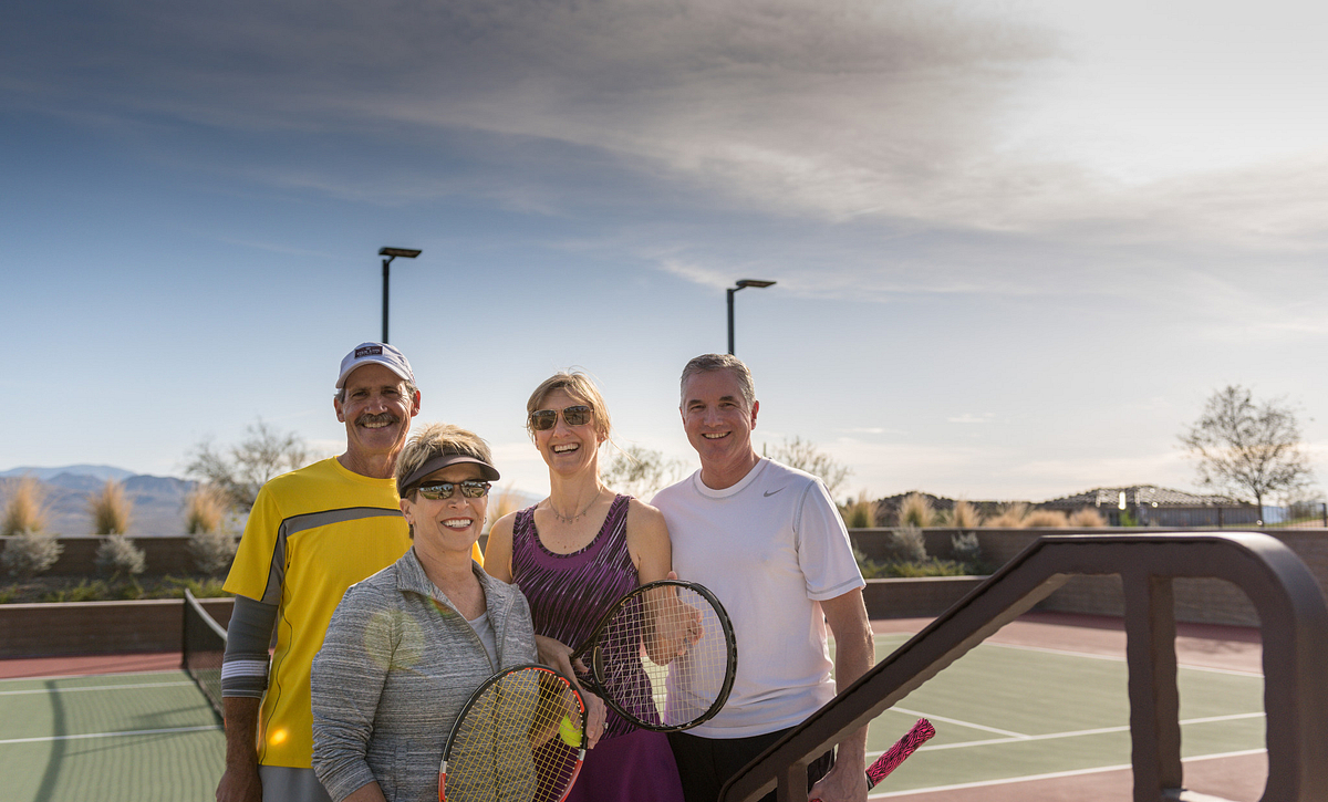 Trilogy Homeowners at Sport Courts