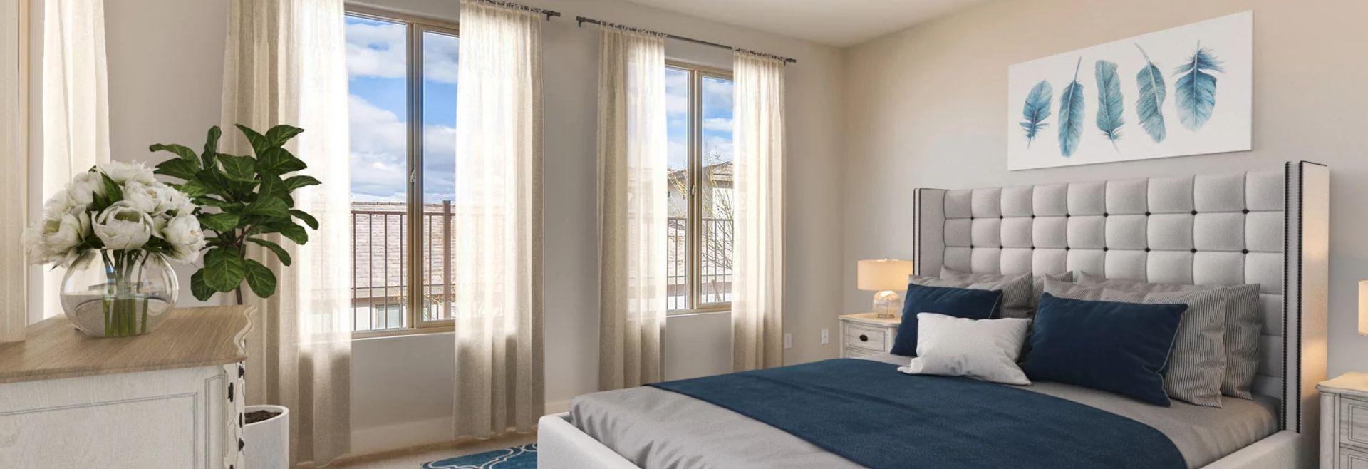 Trilogy Summerlin Explore Master Bedroom