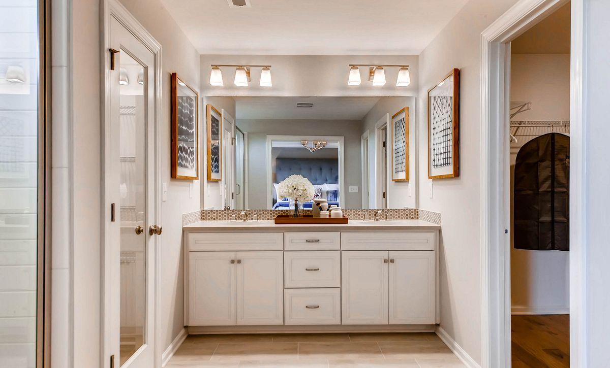 Delaney plan Owner's Bath