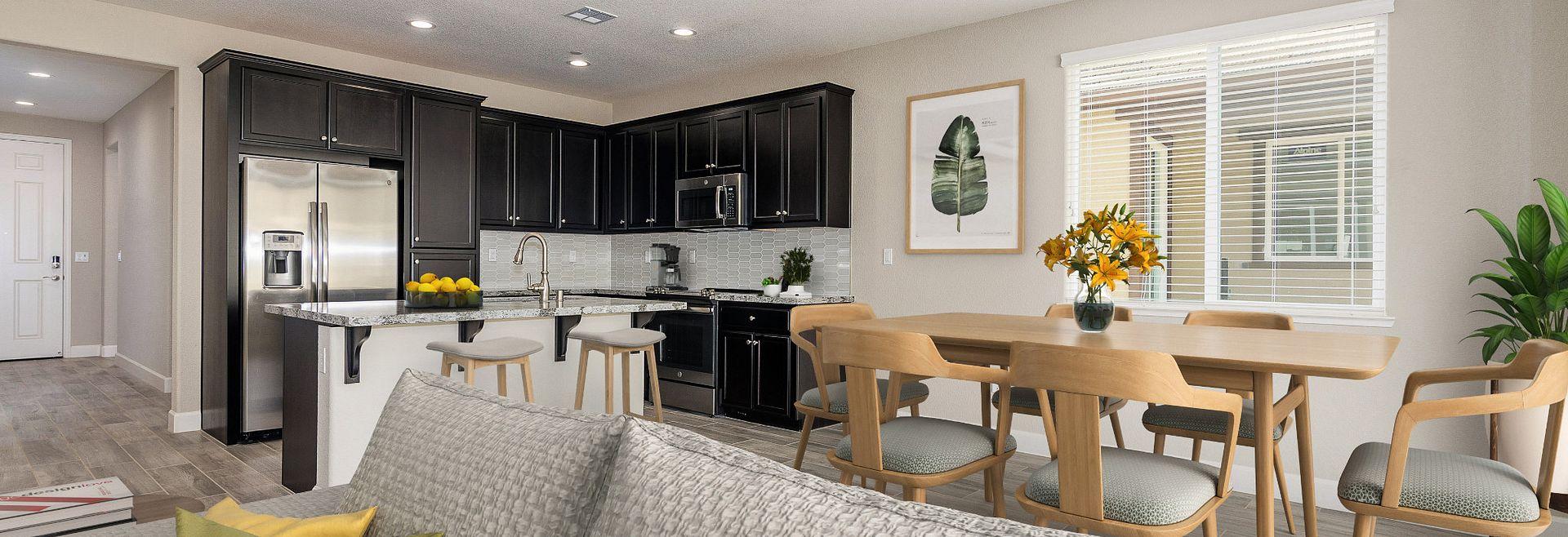 Great Room & Kitchen