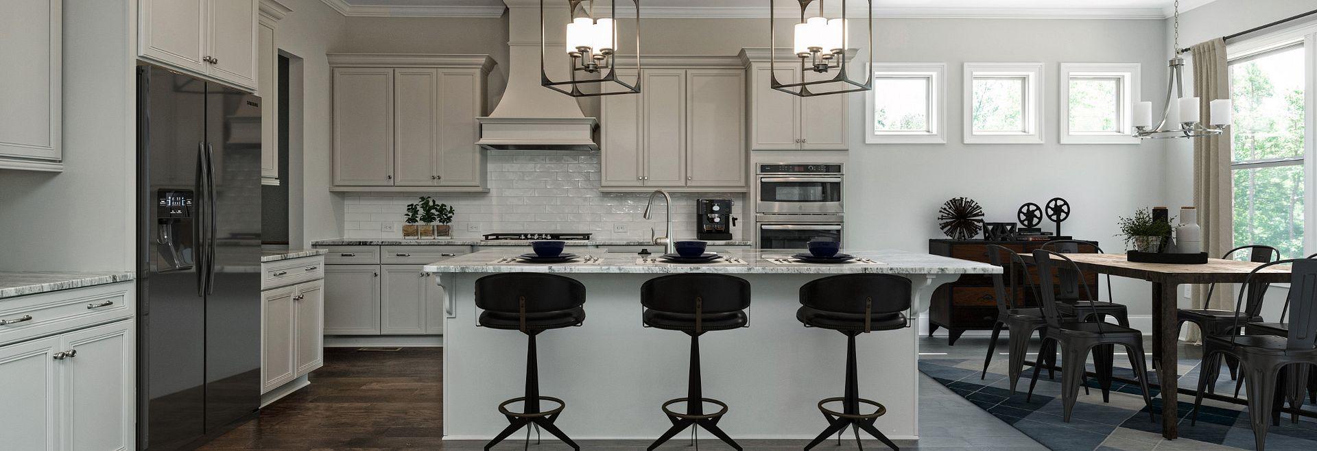 Magnolia plan Kitchen & Breakfast Room
