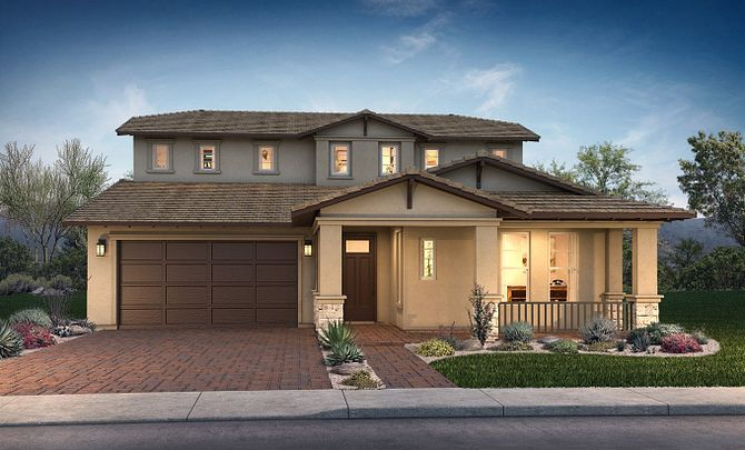 Spark Plan Exterior D: Contemporary Craftsman