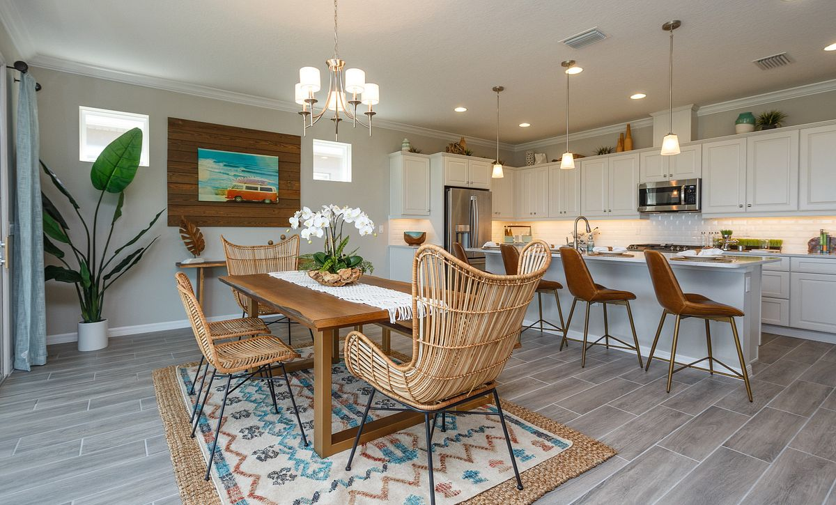 Trilogy Orlando Liberty Model Home Dining