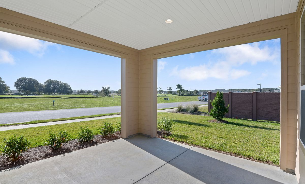 Trilogy at Ocala Preserve Quick Move In Monaco Plan Covered Lanai