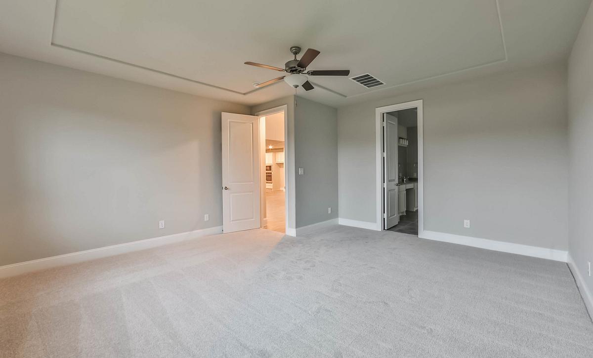 Plan 5059 Master Bedroom