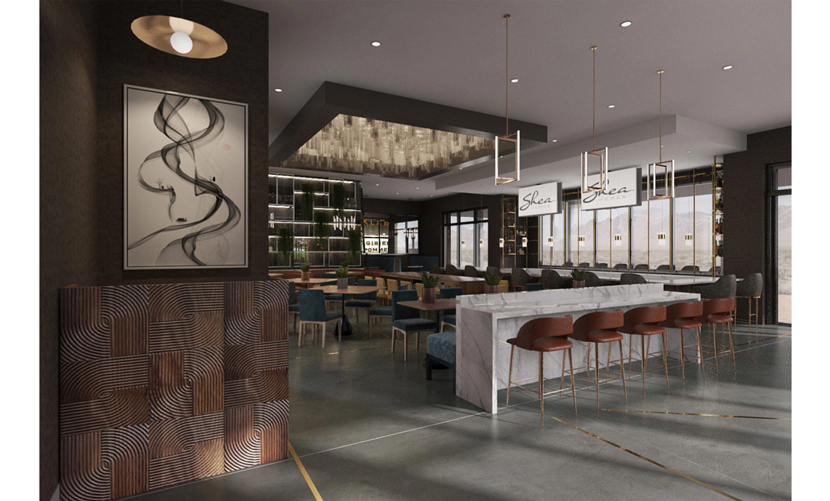 Trilogy Sunstone Cooper's Oak Restaurant & Bar Rendering