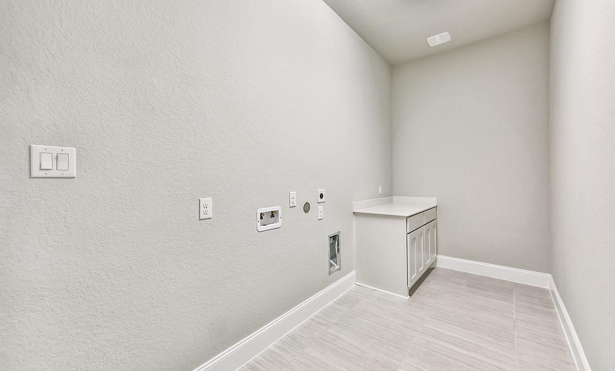 7019 Prairie Grass Plan 6050 Laundry Room