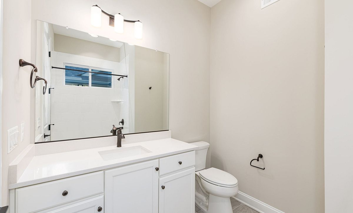 Trilogy at Lake Frederick Quick Move In Home Evoke Plan Guest Bath