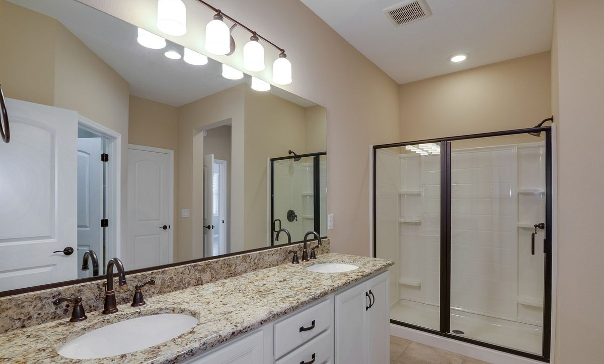 Trilogy at Ocala Preserve Quick Move In Home Muros Plan Master Bath