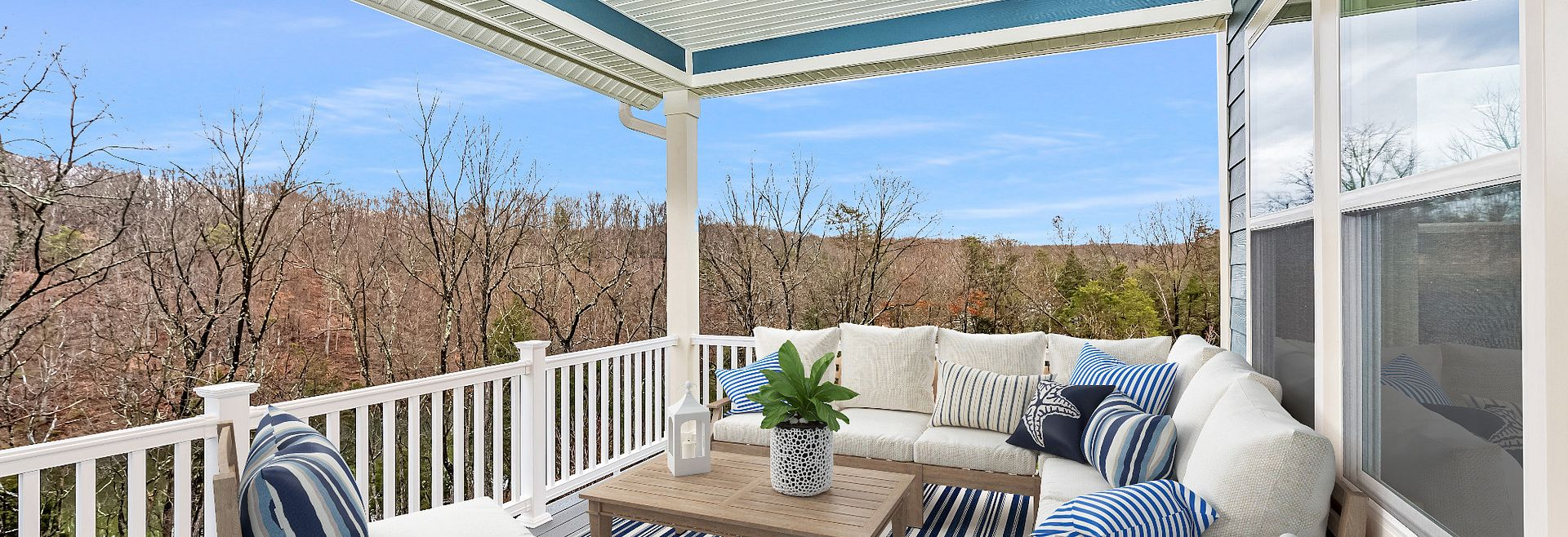 Trilogy at Lake Frederick Virtually Staged Evoke Quick Move In Home Covered Patio
