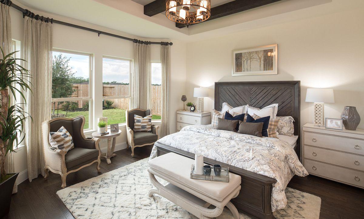 Plan 5118 Master Bedroom