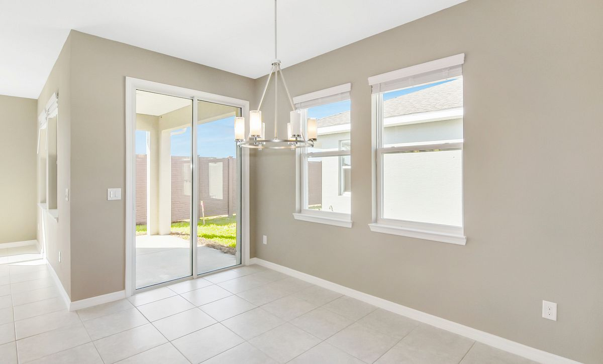 Trilogy at Ocala Preserve Quick Move In Home Muros Plan Dining