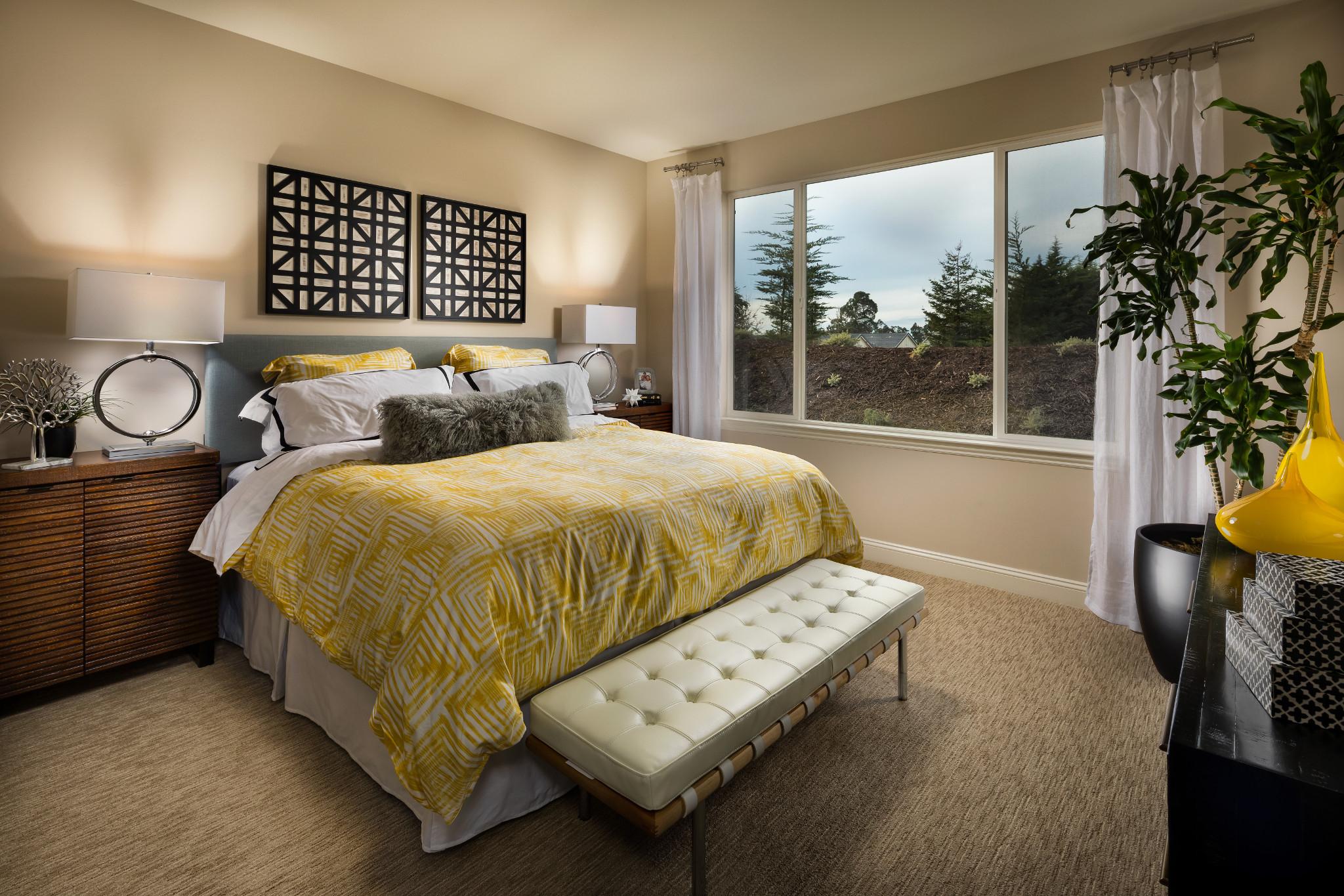 Monarch Ridge Townhomes Sage Master Bedroom