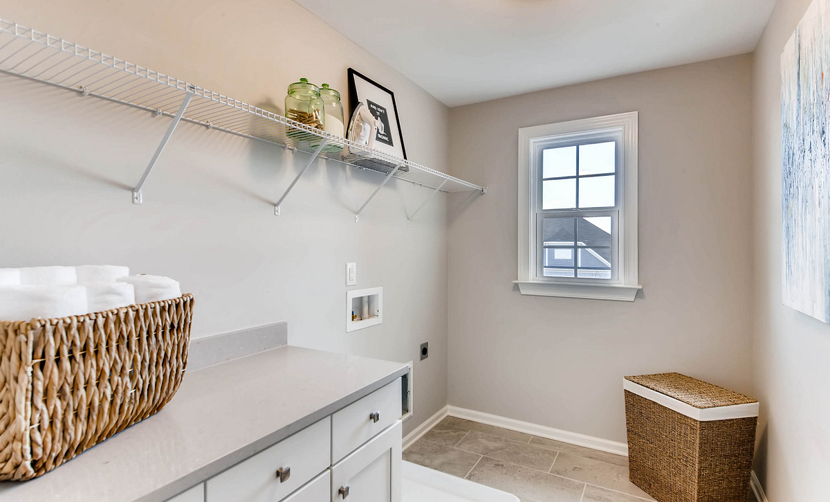 Delaney Plan Laundry Room