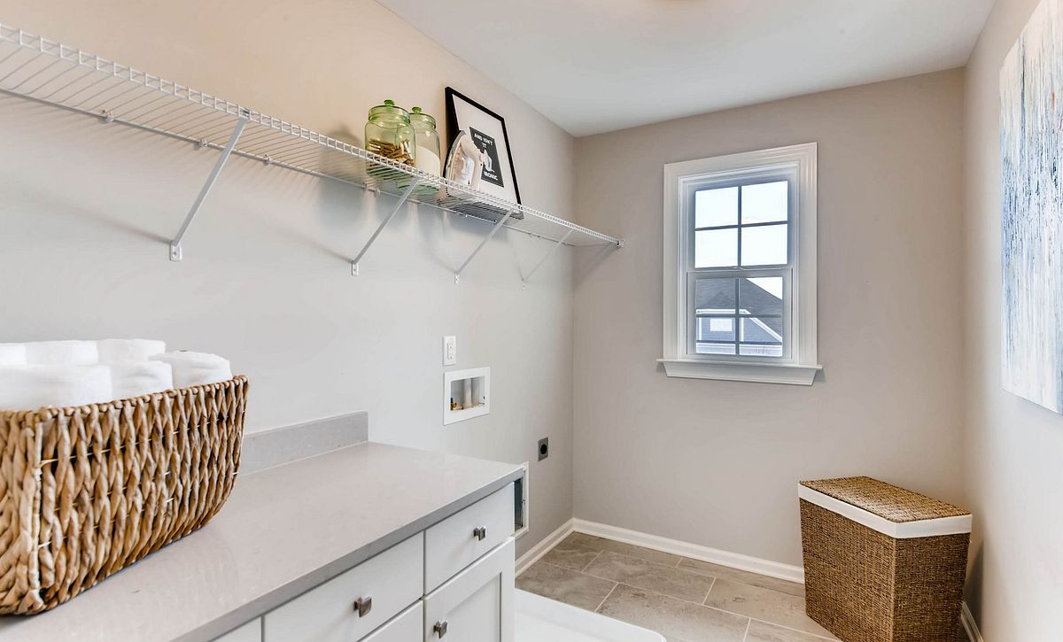 Delaney Plan Laundry Room