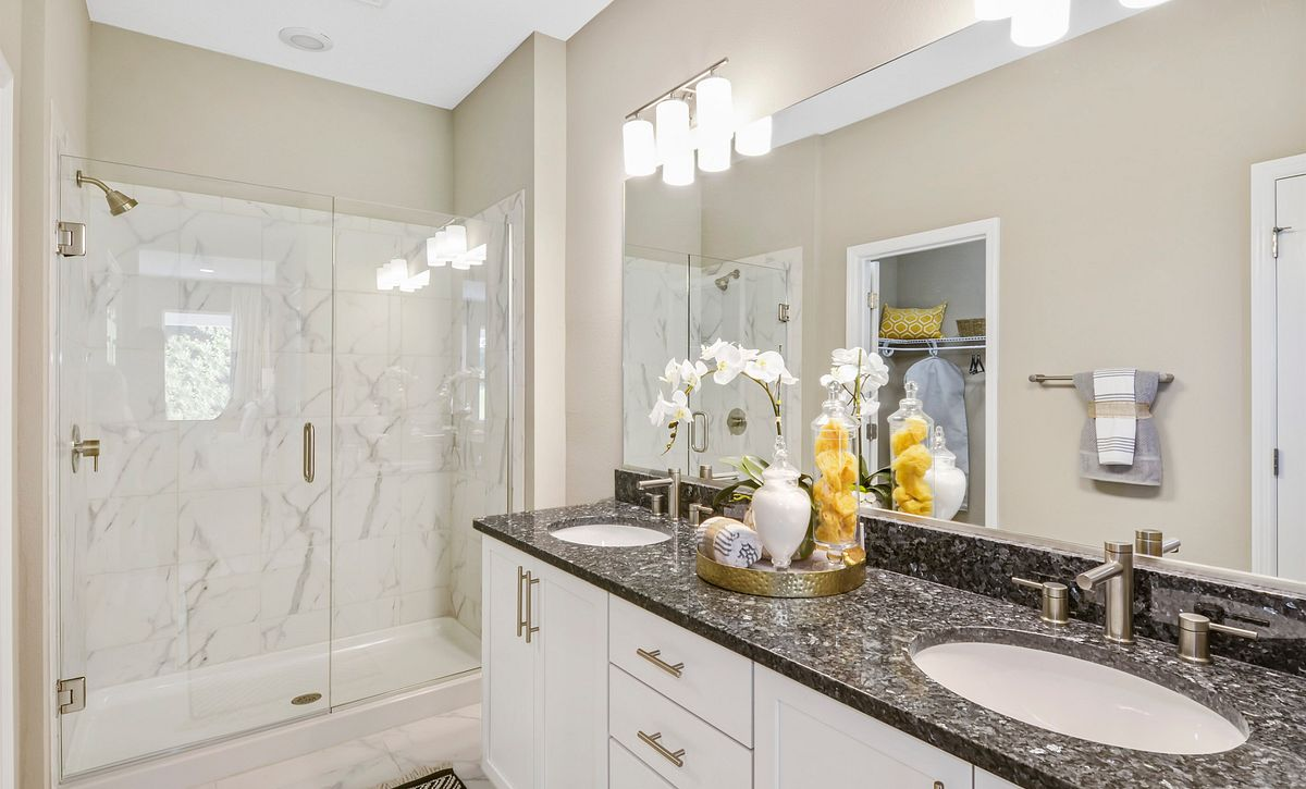 Trilogy at Ocala Preserve Liberty Model Home Master Bath