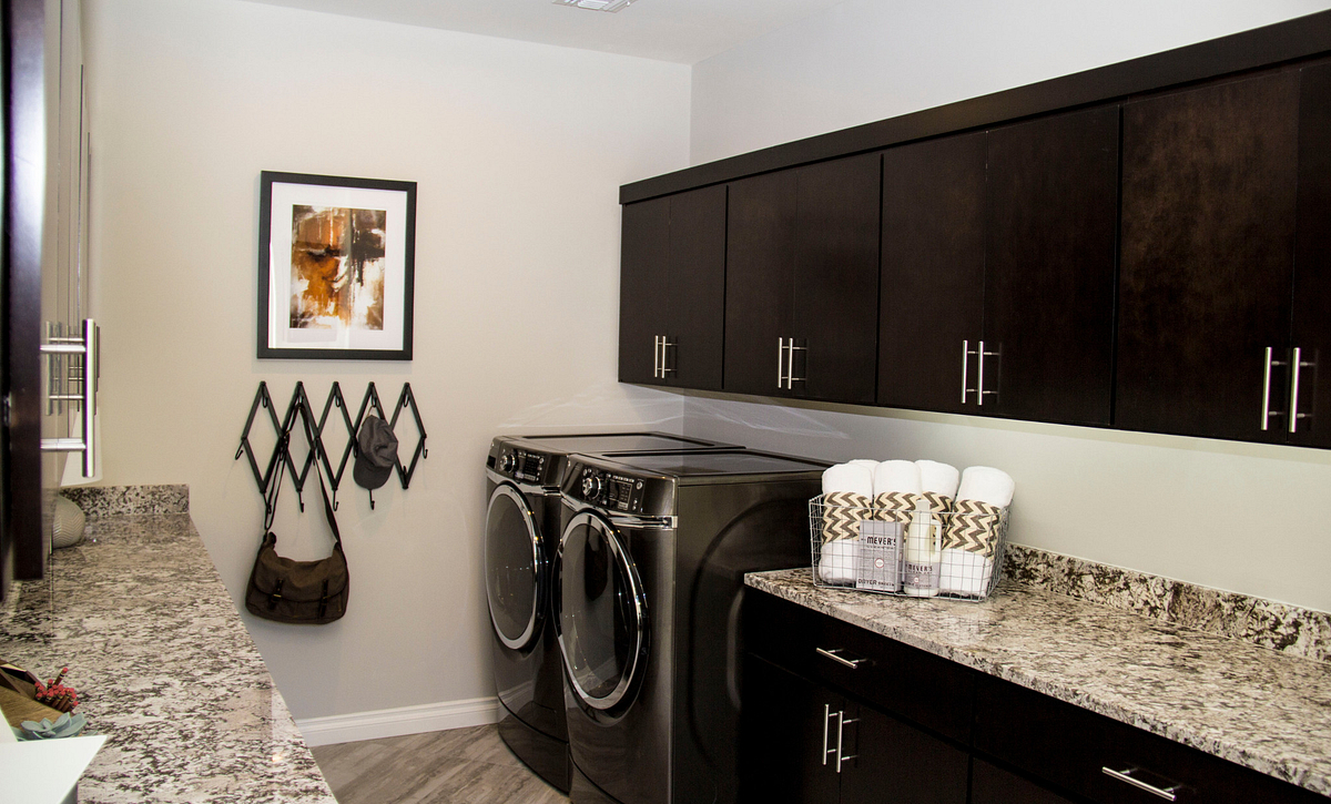 Cannes Model Laundry Room