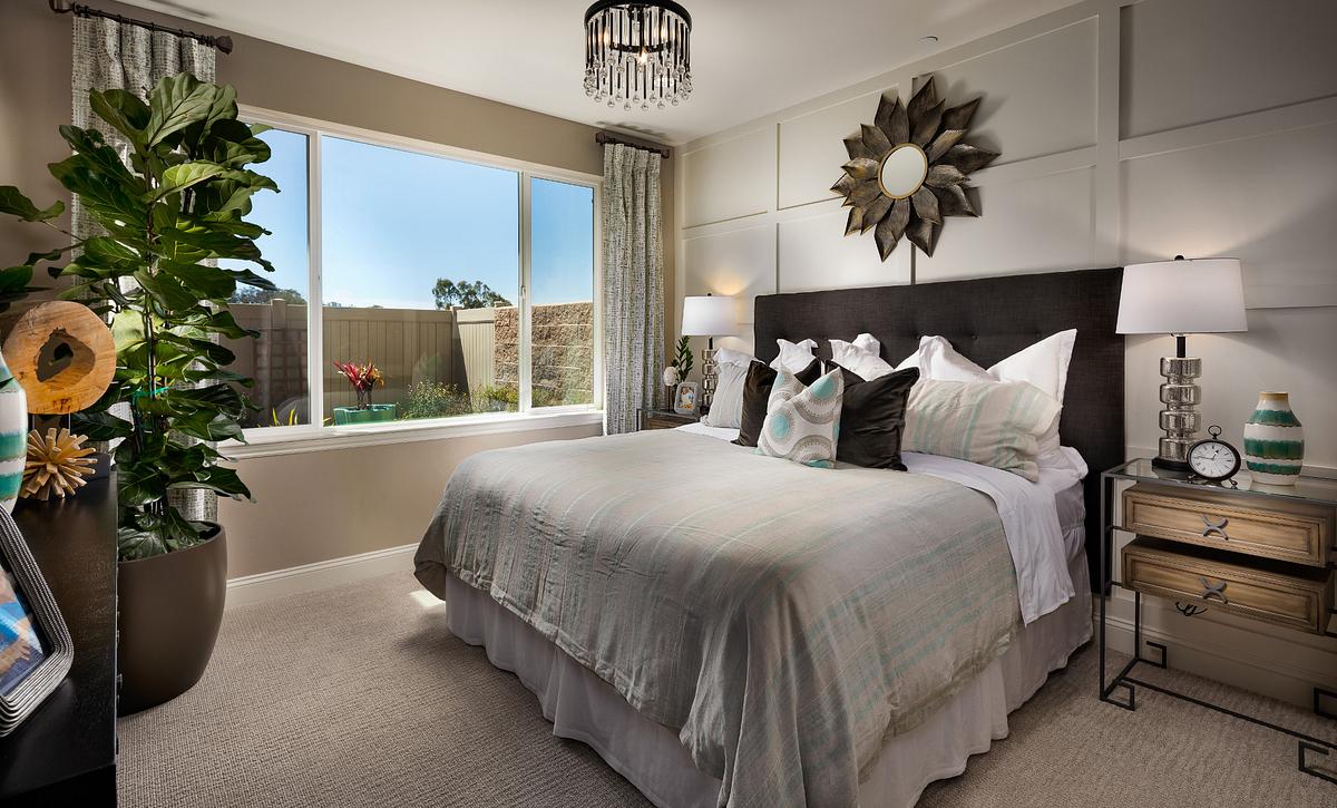 Shea Homes Rice Ranch Acacia+ Master Bedroom