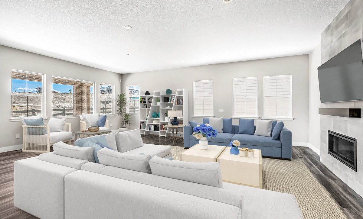 Canyons Retreat Homestead QMI Lot 438 Lounge & Great Room