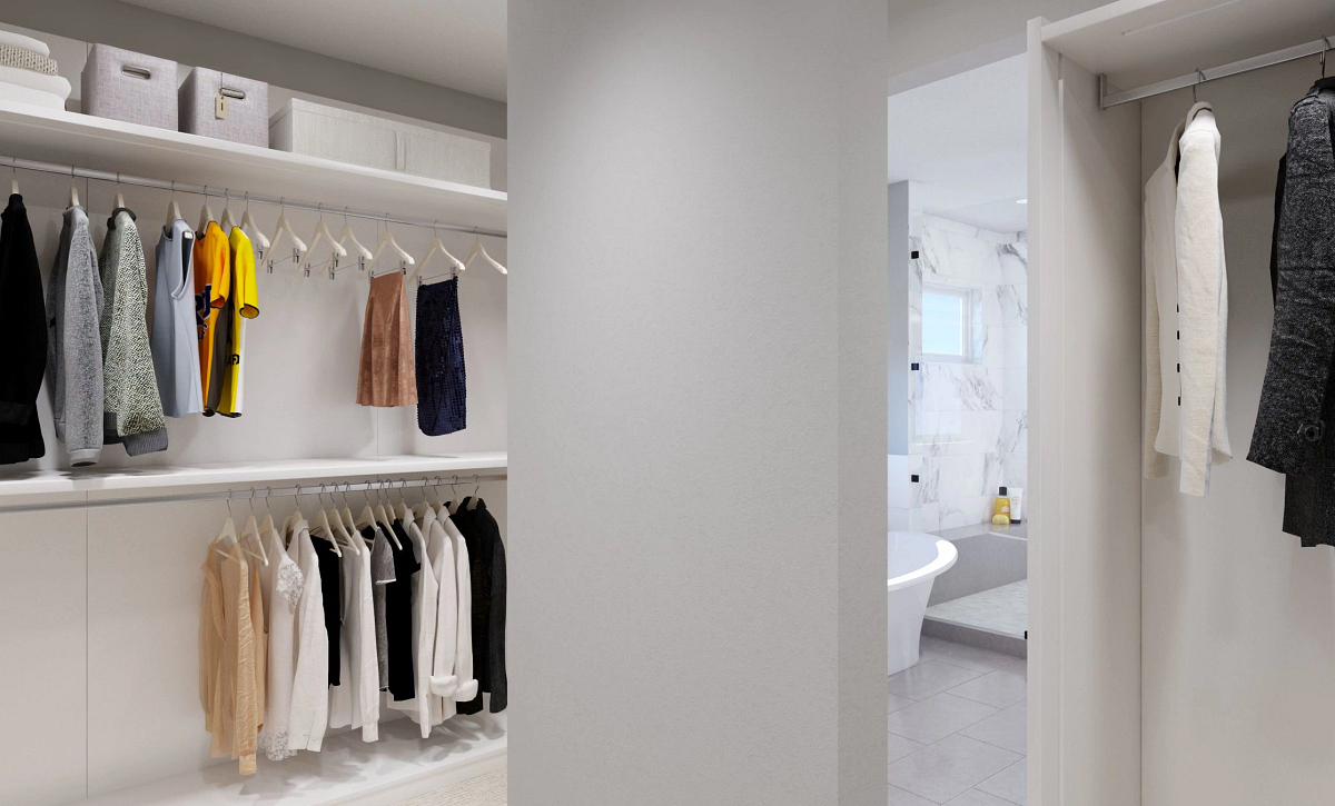 Canyons Luxe The Walton Master Closet