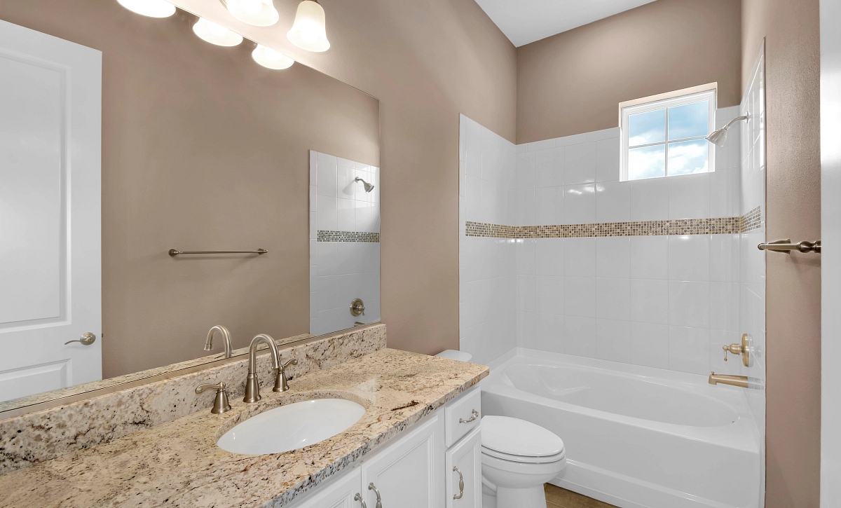 Trilogy at Ocala Preserve Quick Move In Home Imagine Plan Guest Bath