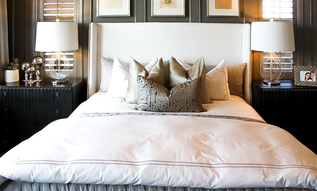 Alondra Plan 1-Model Master Bedroom