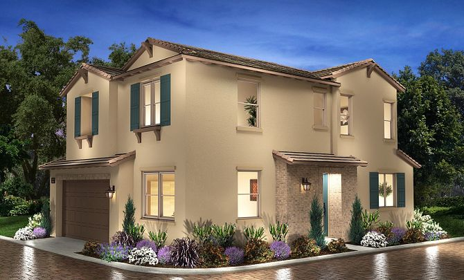 Plan 3X Exterior C: Hacienda