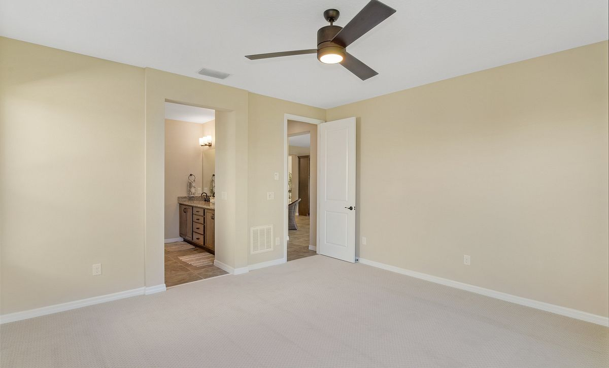 Trilogy at Ocala Preserve Quick Move In Refresh Plan Master Bed
