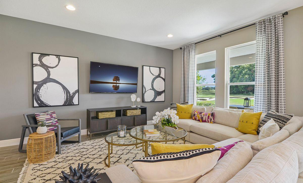 Trilogy at Ocala Preserve Liberty Model Home Great Room
