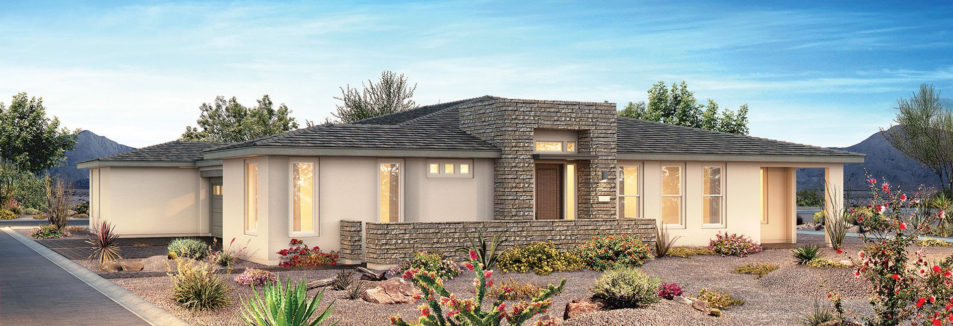 Trilogy in Summerlin Plan Haven Exterior