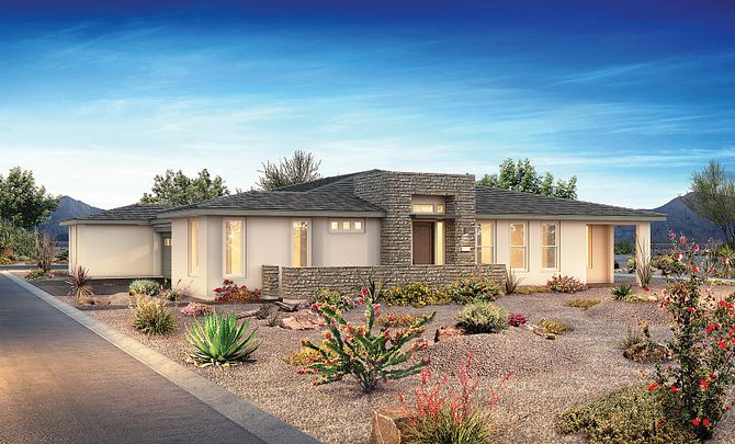 Trilogy in Summerlin Haven Exterior A