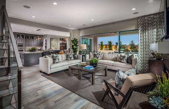 Parkside Estates Plan 3 Great Room