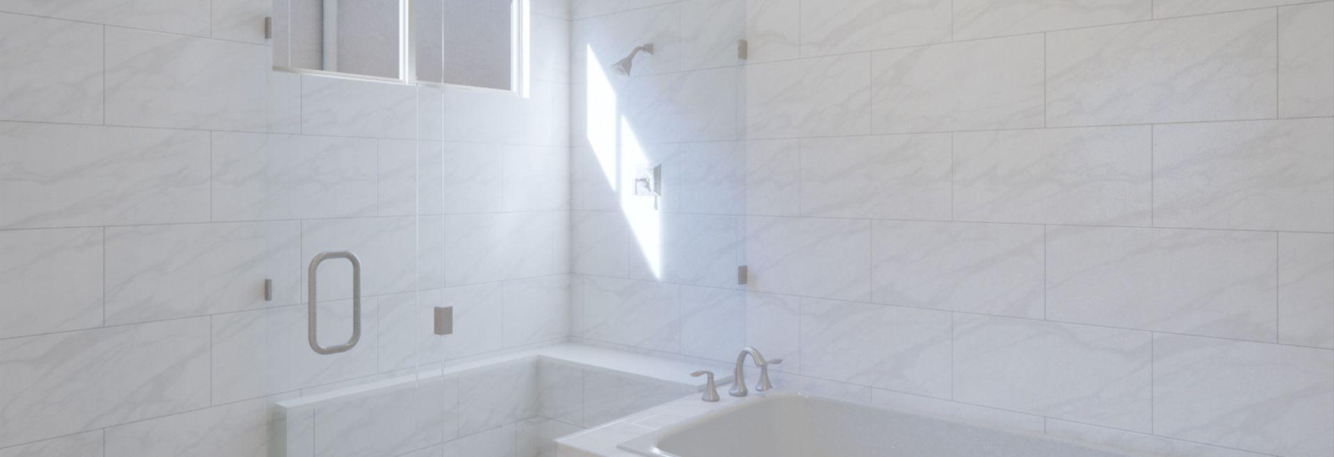 Trilogy Summerlin Radiant Virtually Staged Master Bath