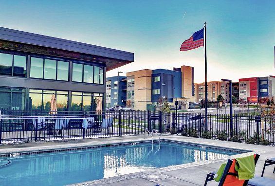 Apex Meridian East Affordable Apartments in Meridian, Denver Pool